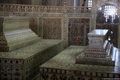 Taj Mahal, interno