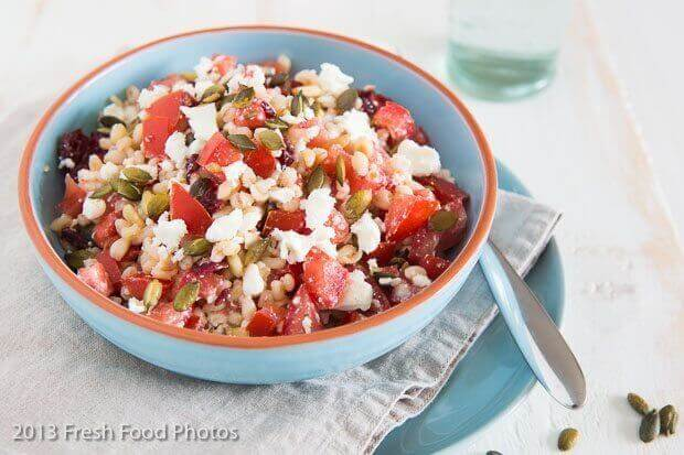 Tarly salade met tomaat en feta
