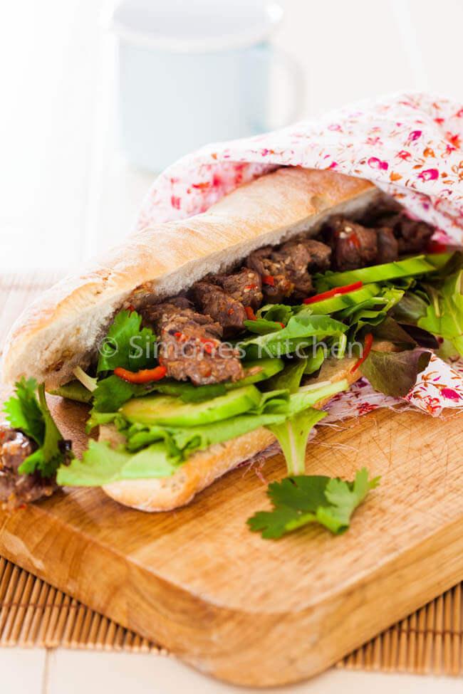 Vietnamese sandwich | simoneskitchen.nl
