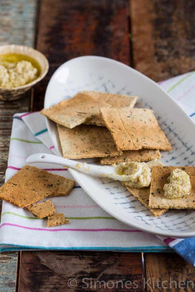 Kruiden crackers   simoneskitchen.nl
