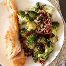 Geroosterde broccoli met knoflook | simoneskitchen.nl