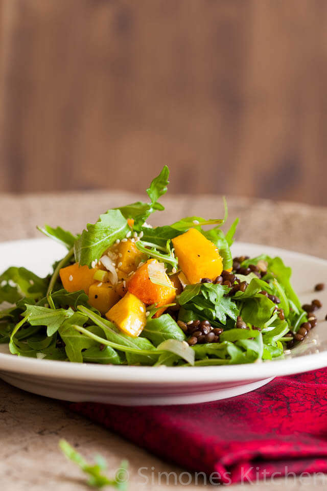 Butternut squash salad | insimoneskitchen.com