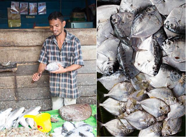 Vishandelaar markt van Takengon | simoneskitchen.nl