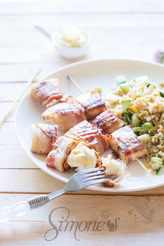 Tilapia filet met bacon | simoneskitchen.nl