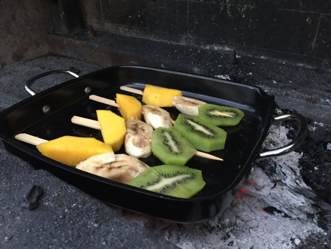 fruit spies barbecue | simoneskitchen.nl