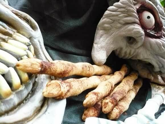 Halloween traktatie: dode vinger koekjes van Carola bakt zoethoudertjes