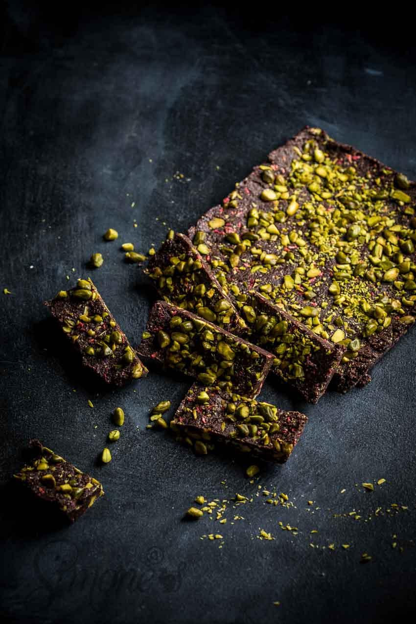Gezonde chocoladecake met pistache | simoneskitchen.nl