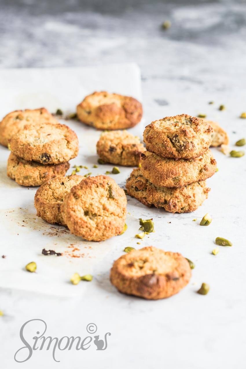 Glutenvrije pistache koekjes   simoneskitchen.nl