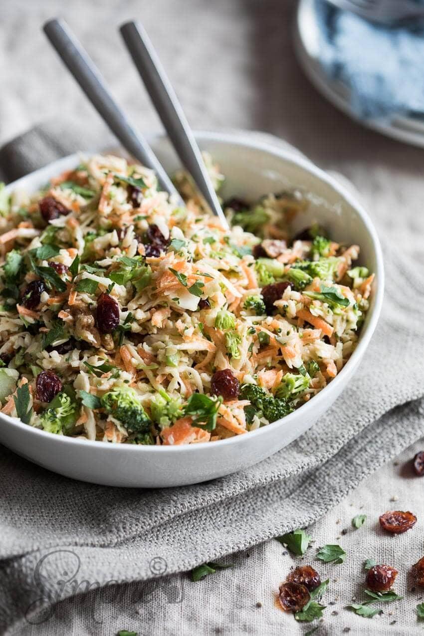 Koolsla met broccoli   simoneskitchen.nl