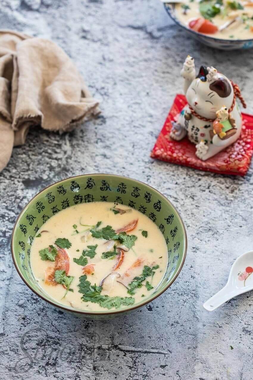 Tom Kha Gai soep | simoneskitchen.nl