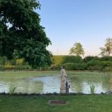 Uitzicht vanuit huisje in Diessen