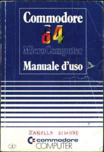 manuale commodore 64 italiano 1988