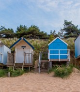 Beach Huts at Wells next the sea 3