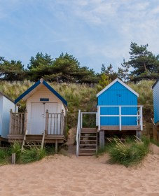 Beach Huts at Wells next the sea 2
