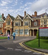 The main building at Bletchley park