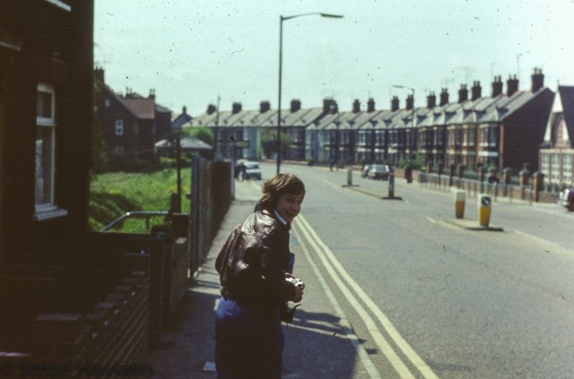 35mm colour slides from Kings Lynn College  circa 1976 - OND technology