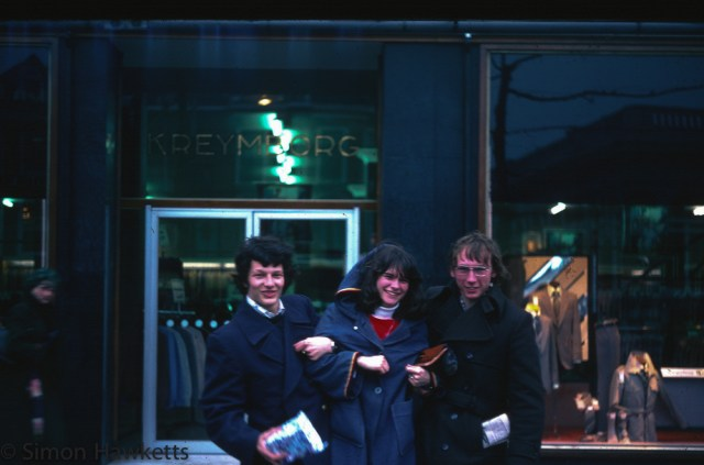 35mm colour slides from Kings Lynn College  circa 1976 - Tina Rogers