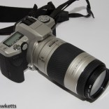 Minolta Dunax 5 camera with telephoto lens
