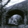 Yashica MG-1 sample pictures - An old railway bridge in Stevenage
