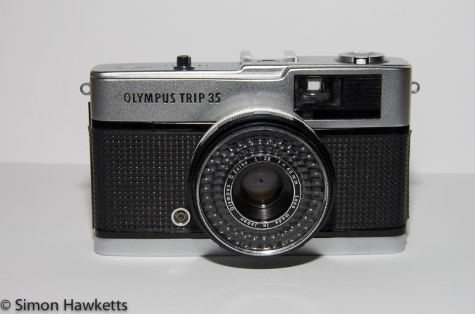 Olympus Trip 35 front view