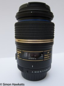 An image of the Tamron 90mm f/2.8 SP lens