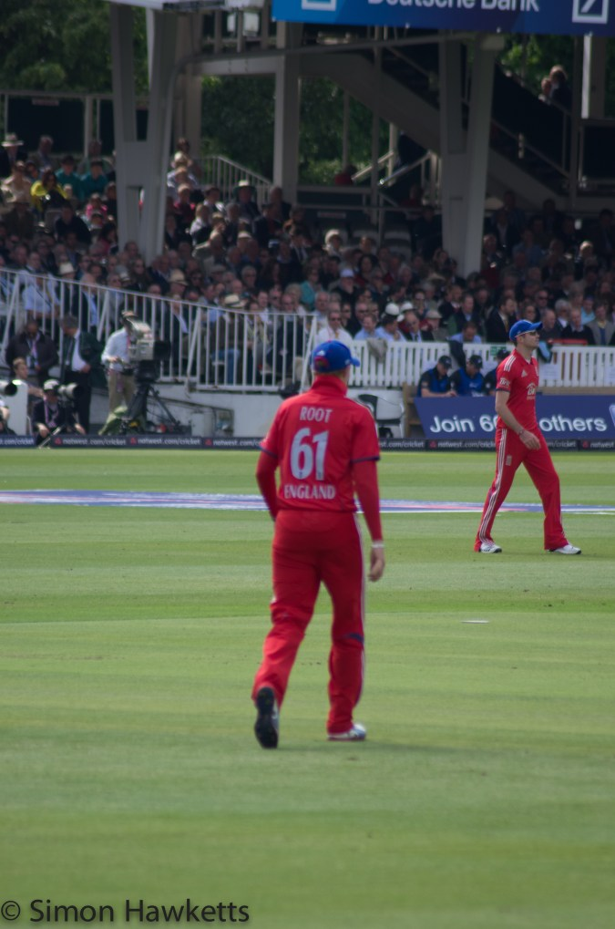 Lords cricket ground - Well Stopped