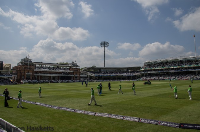 Lords cricket ground - Lunchtime
