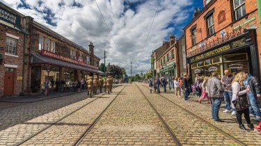 Beamish village
