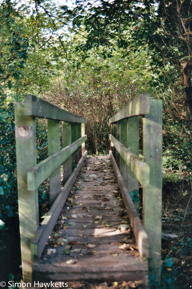 Minolta 7000 35mm slr sample picture - Bridge