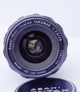 takumar 28mm f/3.5 M42 front view