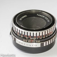 Carl Zeiss Jena 50mm f/2.8 strip down and clean
