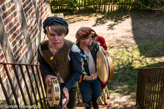Kentwell Hall Tudor day pictures - Minstrels