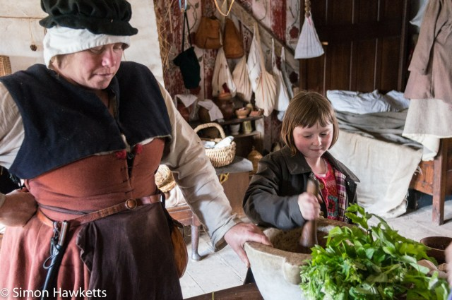 Kentwell Hall Tudor day pictures - The apothecary