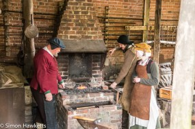 Kentwell Hall Tudor day pictures - The forge