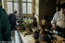 Kentwell Hall Tudor day pictures - The kitchens
