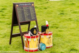 National Trust property Ickworth House pictures - Hats & Drums in battle re-inactment