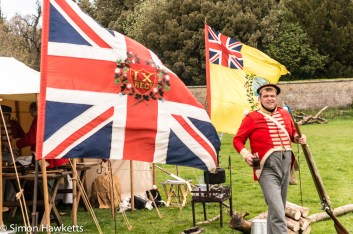 National Trust property Ickworth House pictures - Refreshment tent in battle re-inactment