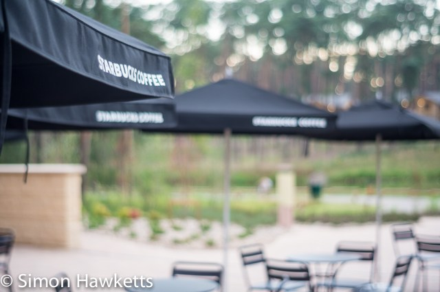 Pictures from Woburn Forest CenterParcs - Starbucks