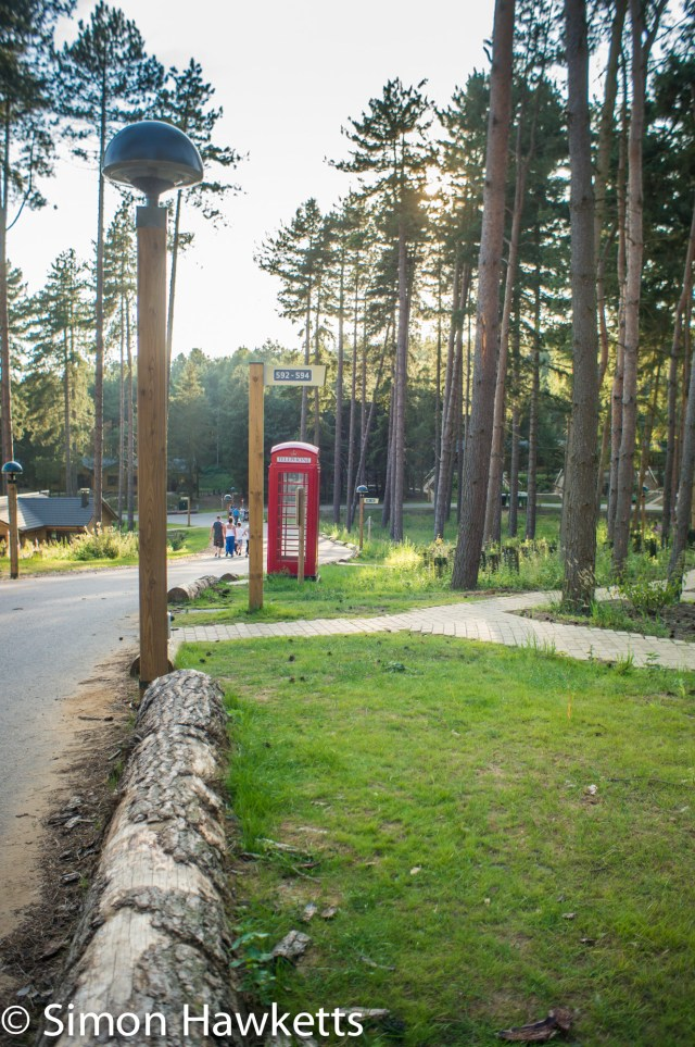 Pictures from Woburn Forest CenterParcs - Telephone box