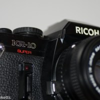 Ricoh KR 10 super 35mm slr camera