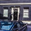 Olympus OM-20 pictures - Number 10 Downing street on colour negative film taken about 1980