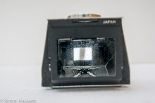 Miranda Fv TTL viewfinder repair - showing hazing inside viewfinder