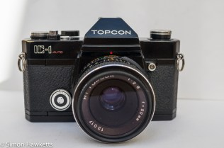 Topcon IC-1 Version 2 with 50mm f/2.8 Hi topcor lens