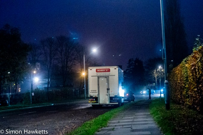 Sony NEX 6 high ISO performance sample pictures - The Van @ iso12800