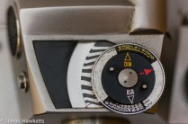Miranda Fm 35mm slr camera showing lightmeter dial