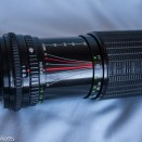 Sigma 100-200 zoom K showing full extension