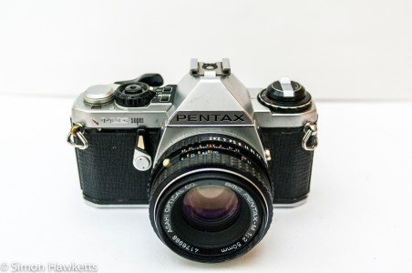 Pentax ME Super - a bit grubby and battered