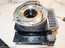 copal-X shutter attempted repair - removing the film speed ring