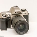 Nikon F80 35mm autofocus slr camera