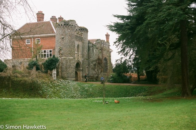 Nikon F80 sample photographs - Bennington Lordship gatehouse